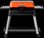 Furnace orange front on