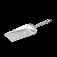 Quantum steel charcoal shovel side angle